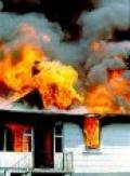 House on fire - Fire safety advice from the thatcher